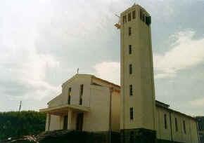 Crkva Svete Male Terezije 1981 godine