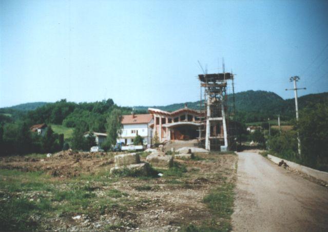 Novo izgradjena crkva Sv. Terezije od Djeteta Isusa